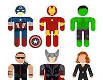 Stickman Avengers / T-Shirt
