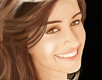 Shraddha Kapoor Digital Painting
