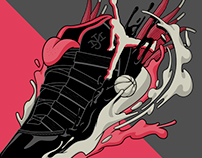 Air Jordan XI - Exhibition Artwork
