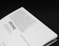 literary brochure