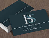 bs business card