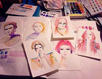 Practice   fashion illustration