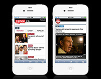 Mobile Sites for Sun Media