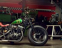 Harley - Customized Sportster