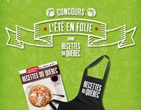 Recettes du Québec - Facebook contest