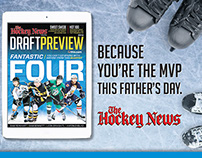The Hockey News - Father's Day Campaign
