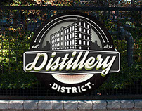 The Distillery District: Branding & Wayfinding Concept