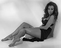 Sensual model: Rut Łozowska