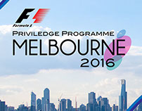 F1 Priviledge Programme Melbourne 2016 (GlHE Project)