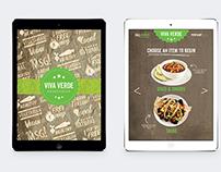 Viva Verde iPad Menu