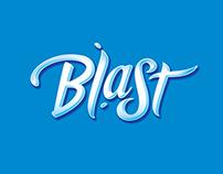 Dentyne Blast | Lettering Concept