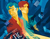 Arctic Monkeys + Kings of Leon - Poster