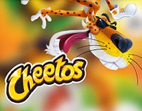 Creación de posts para el fanpage de Cheetos Venezuela