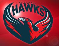 Wollongong Hawks - Rebrand