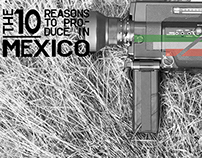 Mexico is  a BIG film production incentive