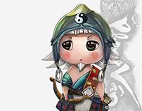 Zodiac chibi character-Vng
