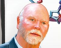 Craig Venter (Ilustración)