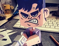 Nicky Larson - City Hunter / Papertoy