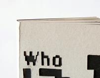 artist book — and personal portfolio