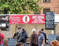 Splendid Sausage Co. Banner Design