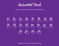 """Touch Gesture"" iconset"