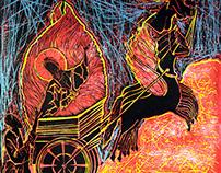 Prophet Elijah & Fiery Chariot