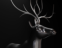 Deer [Jewelry Design]