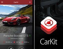 CarKit - iOS App Concept