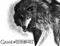 Bestiary Game of Thrones - Wolf