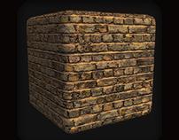 Briks beige (temps 30 MN ) texture 2048X2048