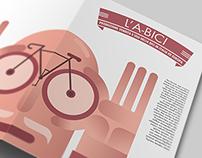 "Infographic / Tri-fold ""L'A-BICI"" | INFOGRAPHIC DESIGN"