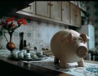 Coop supermarket chain: save piggy bank
