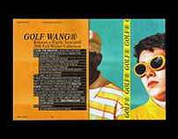 GOLF WANG®// EXPERIMENTAL EDITION