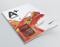 Ana Magazine - institutional magazine