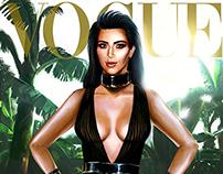 Vogue Cover Kim
