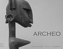 Aidshelp ad for Archeo Gallery