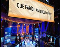 EL CLUB DE LA MITJANIT - Enquesta barres i pancarta