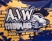 Vinyl Banners: AJW Performance & ISC Suspension