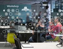 Moonfruit - Meeting Room Graphics
