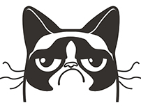 Grumpy Cat Logo