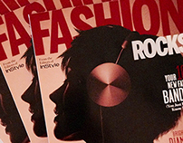 "Record Collections for ""Fashion Rocks"" Magazine"
