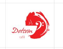 Dotcom Cafe // Logo Design Concept