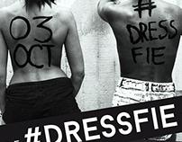 FLYER DESIGN #DRESSFIE London