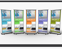 "Roll Up Banner Mock-up ""Vol 01"""