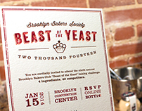 Beast of the Yeast – 3D Invite
