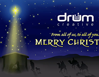 Drum Creative Christmas Video 2013