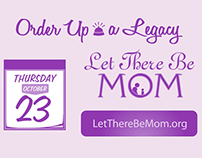 Dine Out for Mom Video 2014 - Let There Be Mom