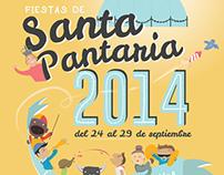 Cartel de fiestas ilustrado, LA ALMUNIA