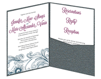 Stoops-Vanin Wedding Invitation Stationery Suite