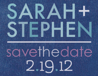 Sarah + Stephen: Save the Date